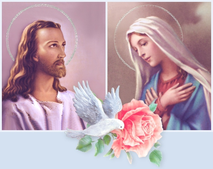 "images of jesus christ with mary. JESUS AND MOTHER MARY. ""Jesus Christ is head of the church and Family"""